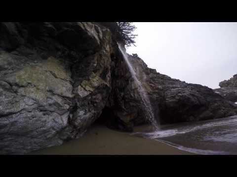 McWay Falls (On the beach and waterfall) - Big Sur, California