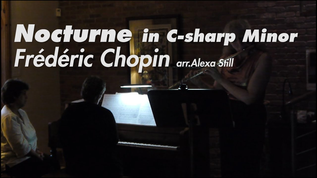 how to play chopin nocturne in c sharp minor