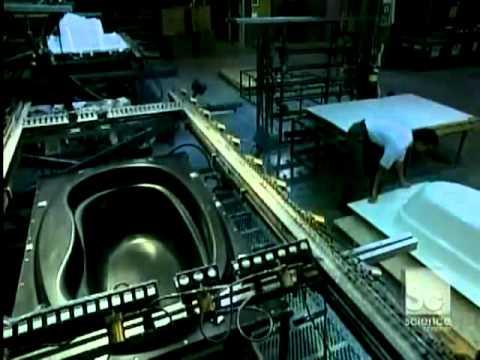 quy trình sản xuất bồn tắm từ mica acrylic