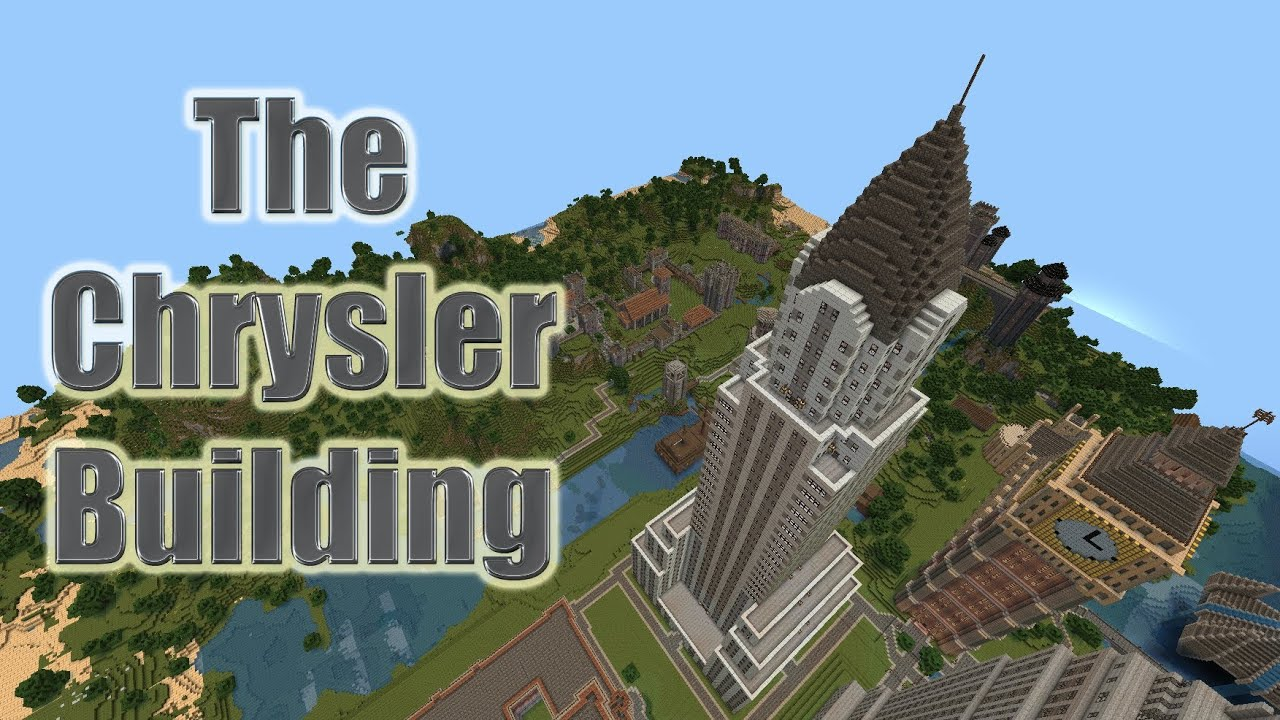 Minecraft Building Huge Buildings