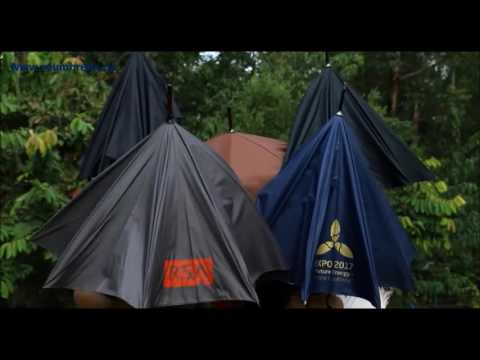 ReUmbrella- зонт обратного сложения!