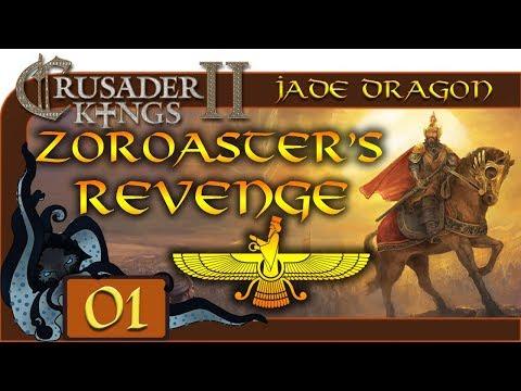 Hor'ath of House Drak - Let's Play Crusader Kings II: Jade Dragon - #01- Zoroaster's Revenge
