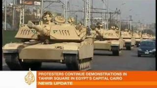 Anti-government protests continue in Egypt