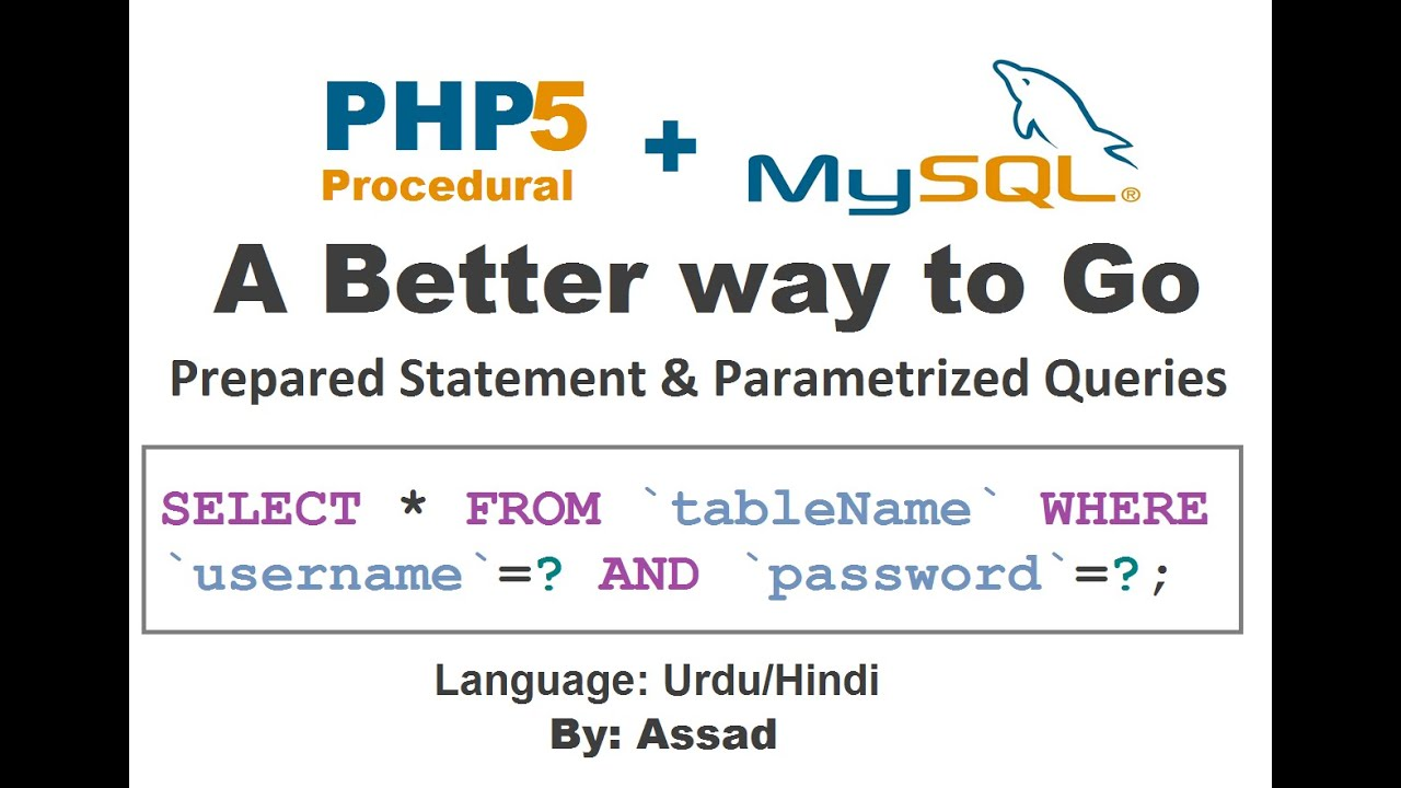 Php prepared statements