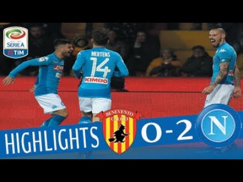Benevento - Napoli 0-2 - Highlights - Giornata 23 - Serie A TIM 2017/18