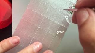 Adesivos de unhas na caixa de leite: tutorial bem fácil arabesco