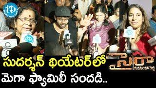 Mega Family Response To Sye Raa Narasimha Reddy Movie    Sai Dharam Tej, Harish Shankar