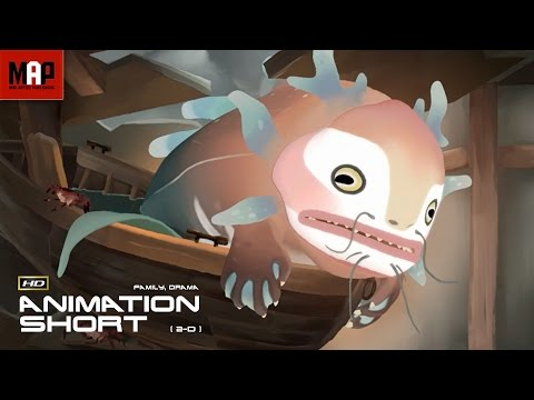 "2D Animated Short Film ""TSUNAMI""- Interesting Animation by The Animation Workshop"