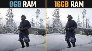 RDR2 8GB RAM vs. 16GB RAM