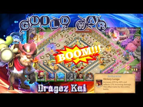 Minotaur Smashing Guild War - Castle Clash