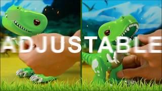 BO Walking Dinosuar Kinder Cartoon Spielzeug mit Touch-Sensing und Sounds