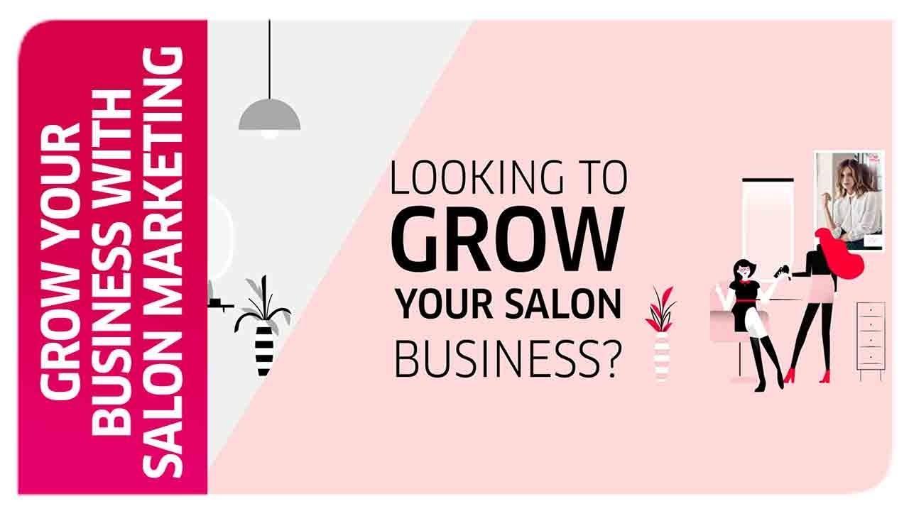 hair beauty salon marketing mix