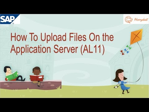 How To Upload Files On the Application Server AL11