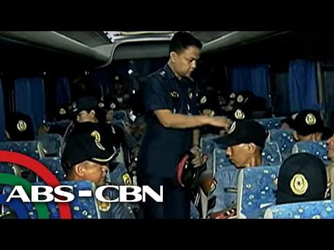 TV Patrol: Mga pulis na tumulak papuntang Basilan, 54 lang