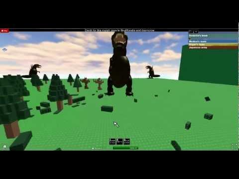 Godzilla on roblox - YouTube