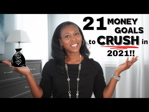 21 Money Goals to Make 2021 Your Best Financial Year Yet ⎟FRUGAL LIVING TIPS