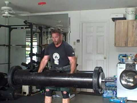 Strongman Training: Log Press(Lightweight champions)