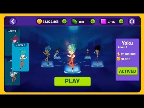 hack siêu anh hùng và giải đấu sức mạnh - stick super fight - hack full 30m coin - up full hero - xem là phê ( stick dragon ball pk )