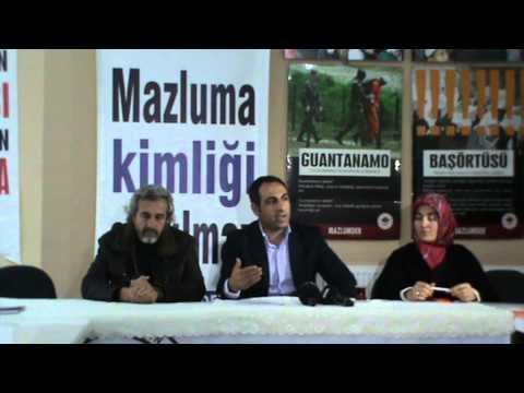 6 Aralık 2012 - MAZLUMDER İstanbul -...