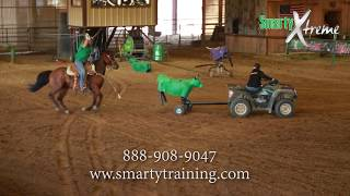 Smarty Xtreme Roping Demonstration - Allen Bach