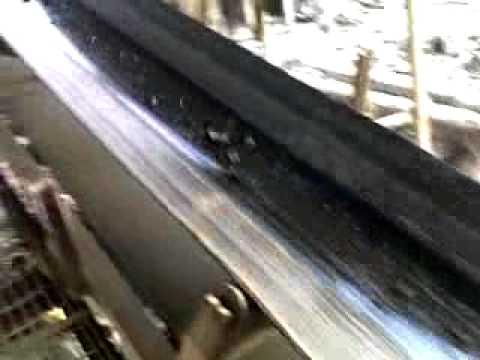 tyre shredding machine