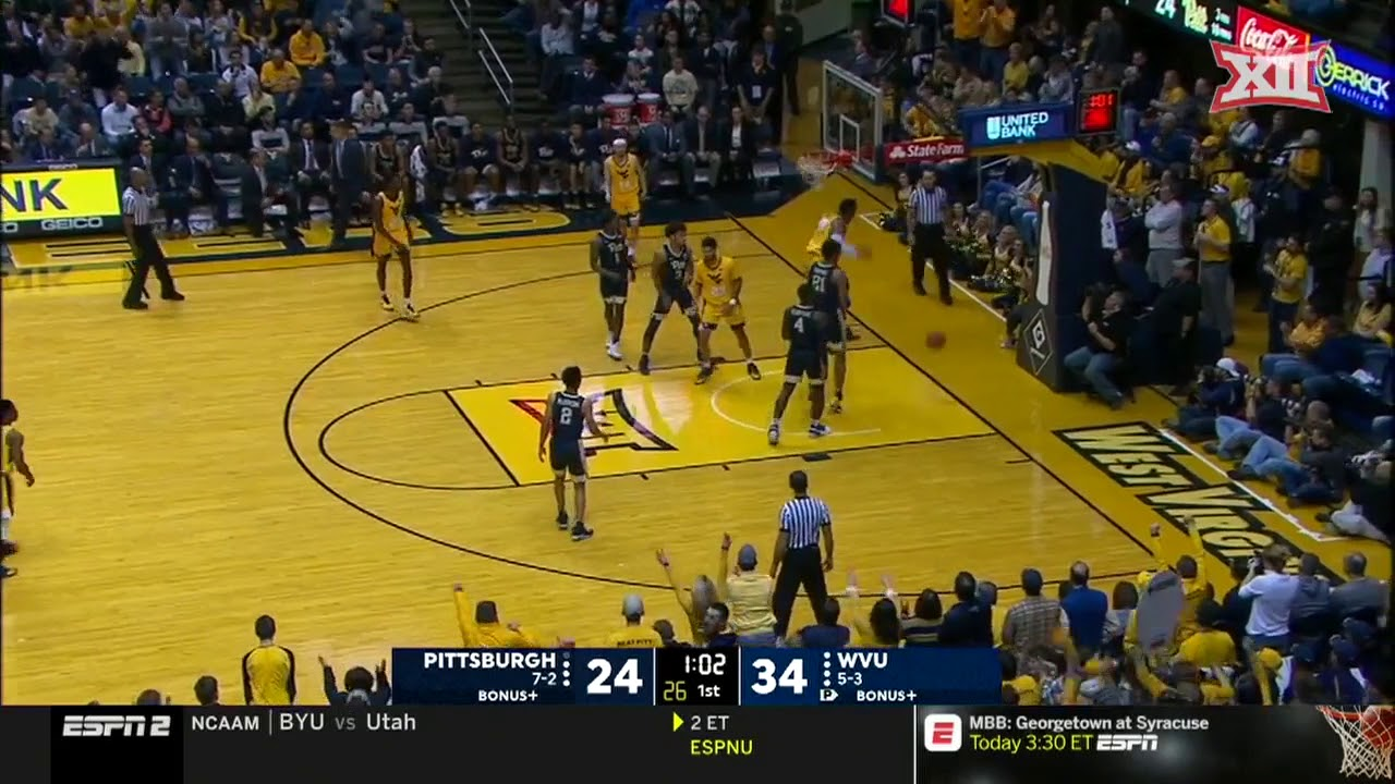 wvu-vs-pittsburgh-men-s-basketball-highlights