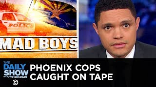 Phoenix Cops' Extreme Response to Shoplifting Caught on Tape | The Daily Show
