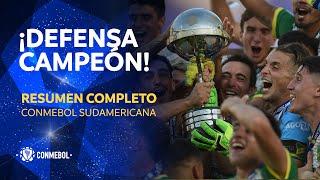 Sudamericana   Lanús 0-3 Defensa y Justicia   HIGHLIGHTS COMPLETO