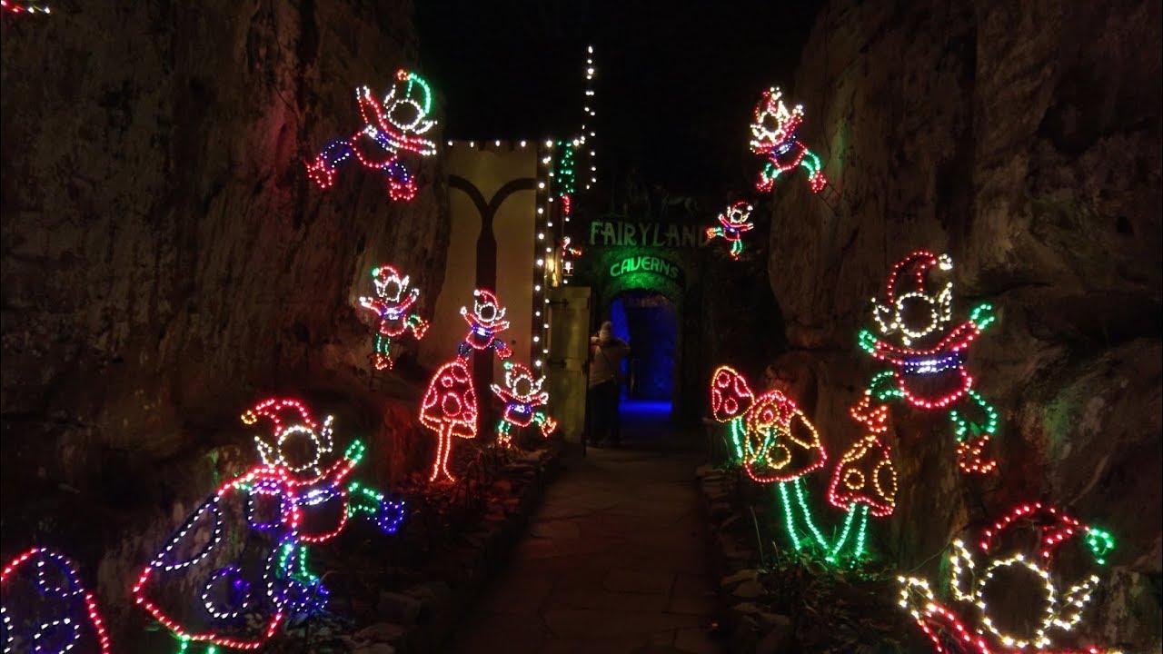 Rock city enchanted garden of lights 2018 youtube - Rock city enchanted garden of lights ...