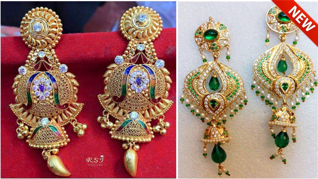 Rajputi Gold Earring Design New Earrings Design In Gold