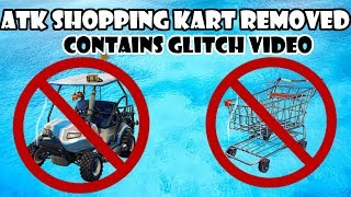 ATK Shopping Cart Temporarily Removed from Fortnite (With glitch Videos)