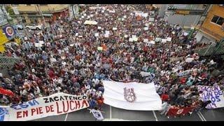 Estudiantes del IPN preparan marcha con rumbo al Ángel de la independencia