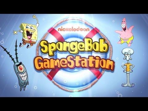 SpongeBob Game Station - Новые приключения Губке Боба (обзор-летсплей на Android)