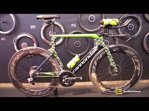 2019 Cannondale Super Slice Disc Triathlon Bike - Walkaround - 2018 Eurobike Mp3