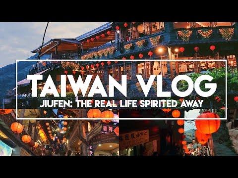 "TAIWAN VLOG: Day 4 (Part 2)   Jiufen: The Real Life ""Spirited Away"""