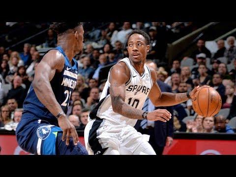 NBA Minnesota Timberwolves vs San Antonio Spurs   Oct 17,  2018