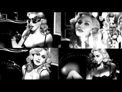 Madonna  Justify My Love  MDNA Tour Backdrop Outtake