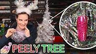 Decorating my Cristmas Tree with my Nail Peelies