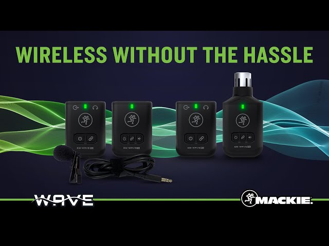 EleMent Wave - Wireless Lavalier & XLR Microphone Systems - Promo Video