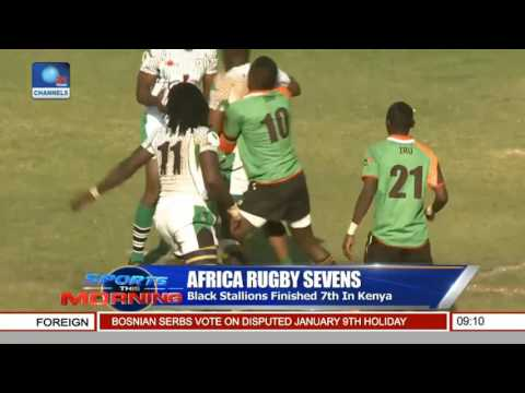 Sports This Morning: Focus On Africa Rugby Sevens