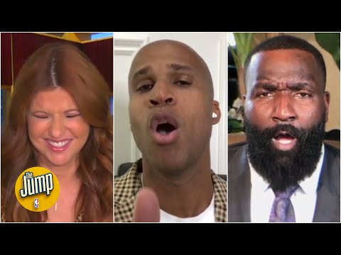 Perk and Richard get HEATED during ROY debate ... even though they agree on the winner! | The Jump