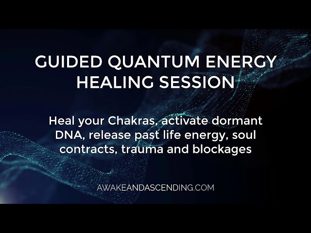 Guided Quantum Energy Healing session date for March 2021