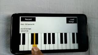 ek hasina thi - mobile piano