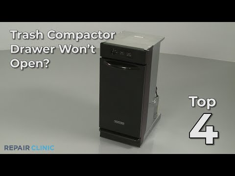 "Thumbnail for video ""Trash Compactor Drawer Won't Open? Trash Compactor Troubleshooting"""