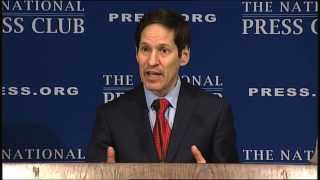 Thomas Frieden Speaks at Sept. 10, 2013 National Press Club Luncheon