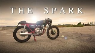 "Cafe Racer (Honda CB 125 - ""The Spark"" of 50.000 Subscribers)"