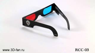 3d-fan.ru RCC-03 - Анаглифические красно-голубые 3D очки картон(3d-fan.ru RCC-03 - Анаглифические красно-синие картонные очки, черные, двуслойные, США, с логотипом Jonas Brothers (стилизо..., 2013-01-05T13:21:31.000Z)