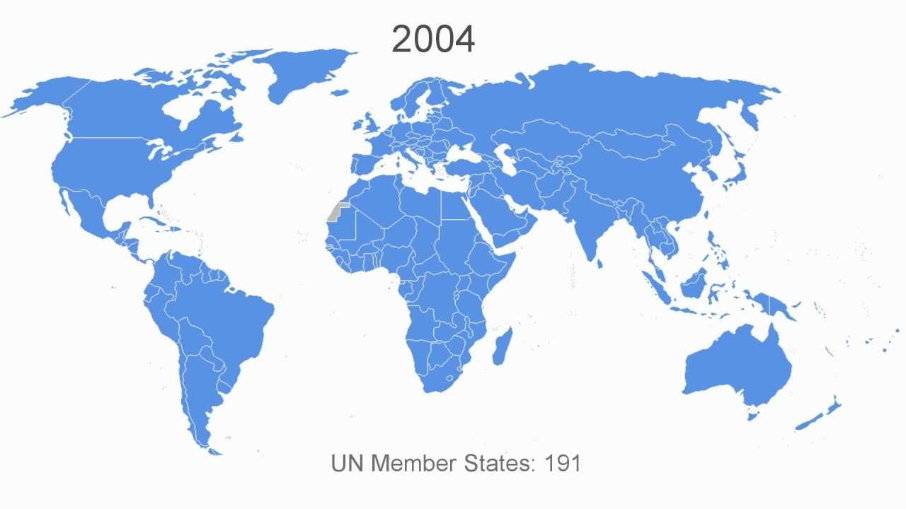 Growth in united nations membership 1945 2012 youtube gumiabroncs Gallery