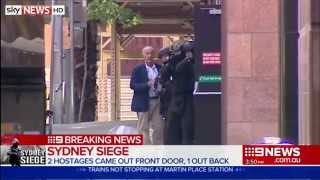 Three People Escape Sydney Cafe Hostage Siege
