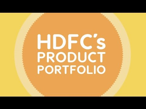 HDFC's Housing Loan Products